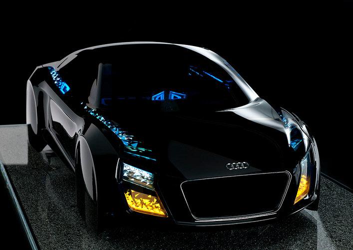 Audi Concept Futuristic Car Lights