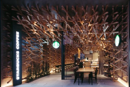 Japanese Starbucks