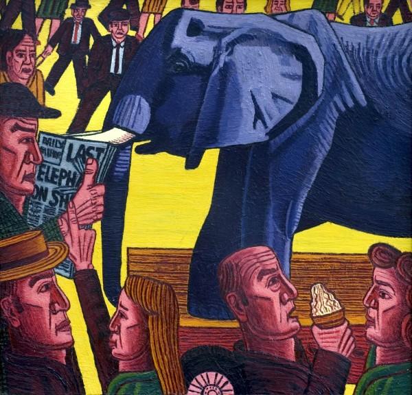 TEH LAST ELEPHANT