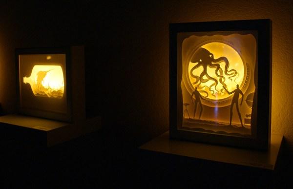 backlit paper sculptures 8
