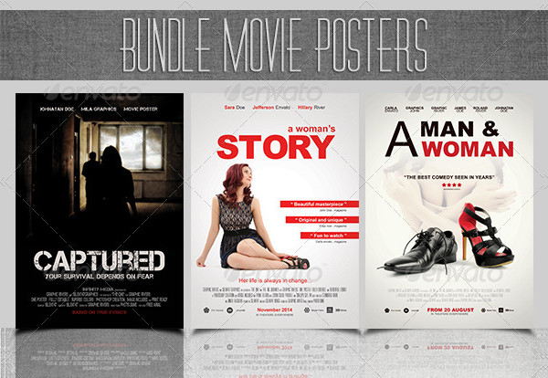 Big Movie Posters Bundle