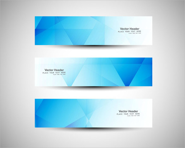 Business Abstract Banners Free