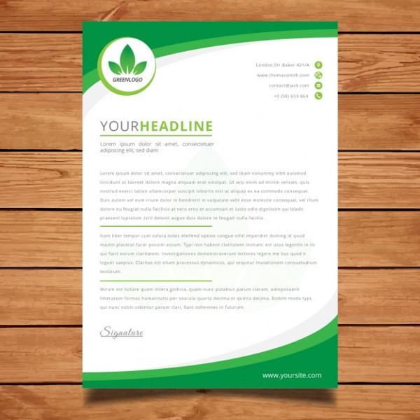Business Letterhead Download for Free