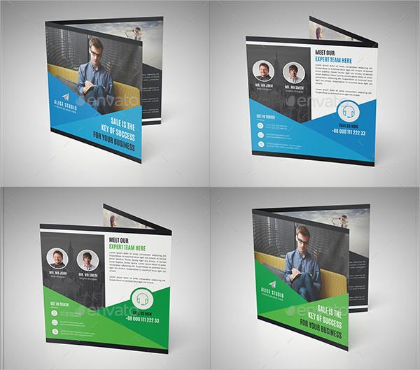 Creative Square Brochure Templates Bundle