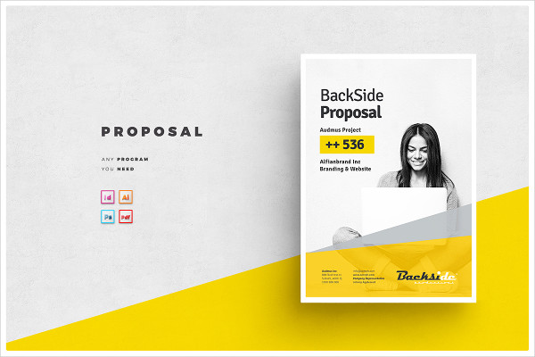 Modern Proposal Template Photoshop
