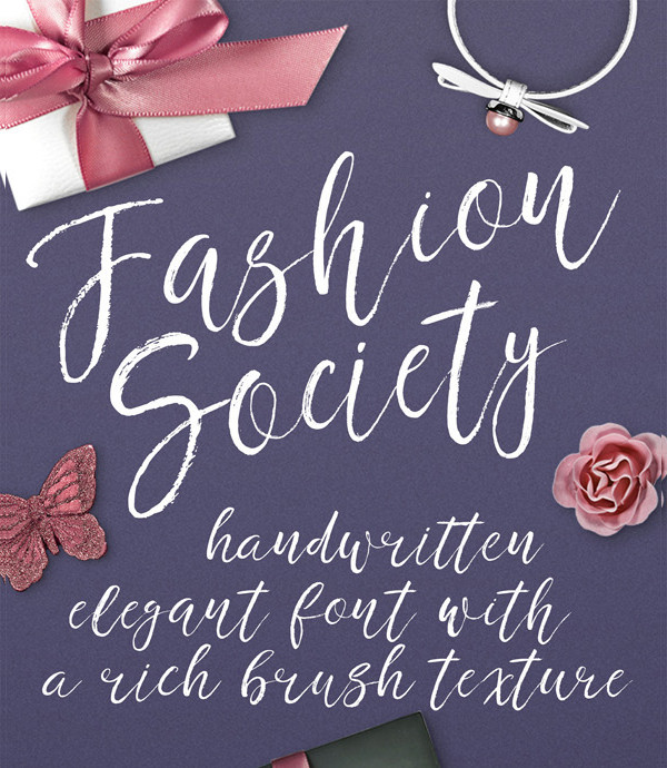 Fashion Society Romantic Fonts
