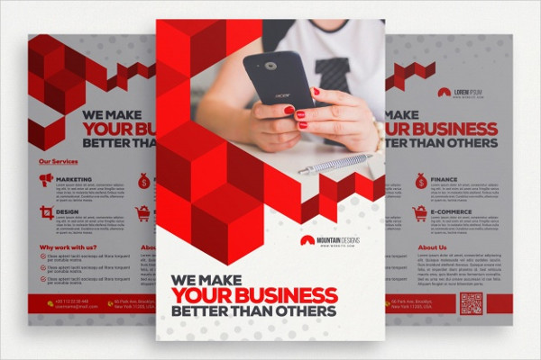 Free Geometric Business Brochure Template