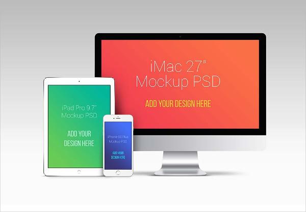 Huge Apple Devices Mockup Bundle