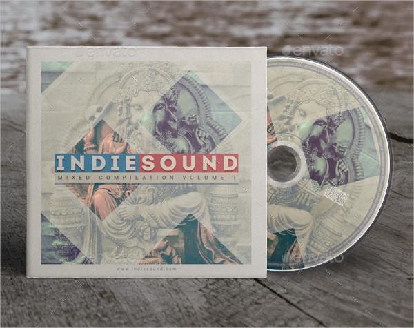 Indie Sound CD Cover Artwork Design