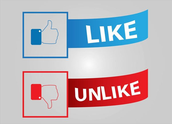 Facebook Like & Unlike Buttons Free Download