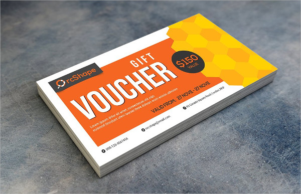 Gift Voucher Template for Personal & Business Use