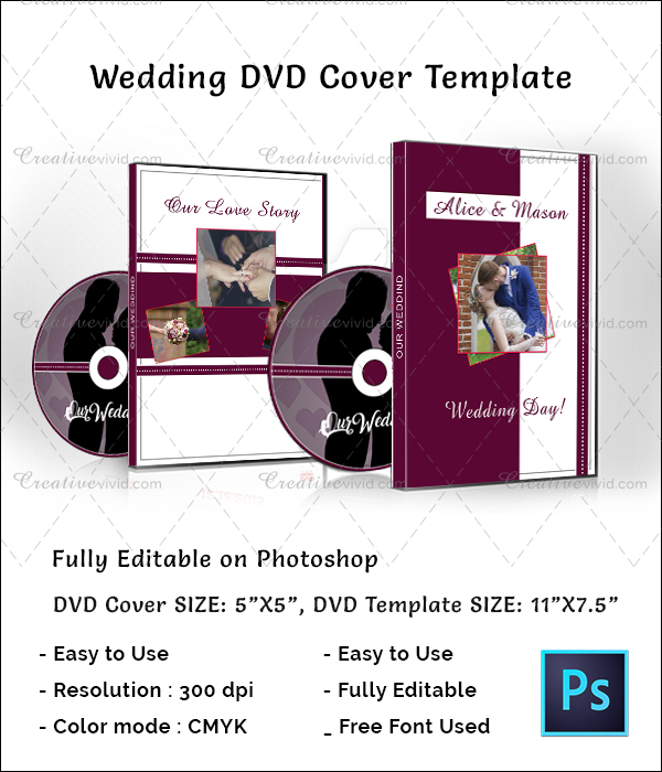 Stylish Wedding DVD Cover