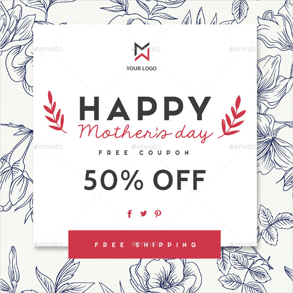 8 Happy Mother's Day Banners