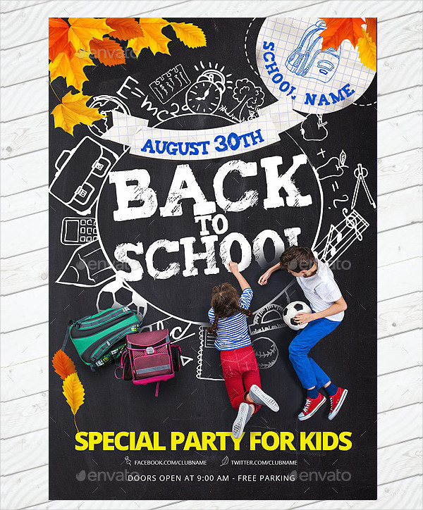 Special Party Flyer Template
