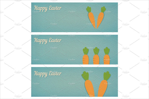Easter Banners Printable