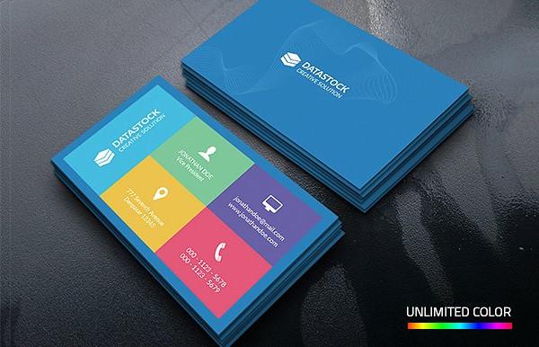Unique Metro Corporate Business Card