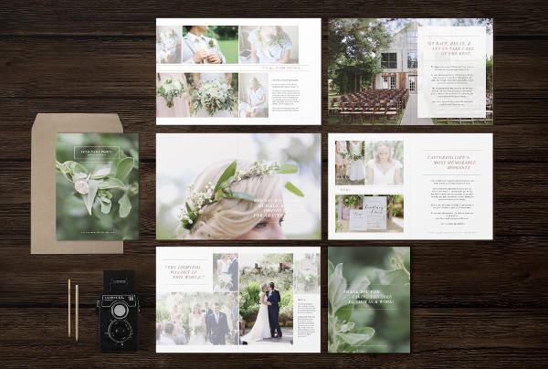 Branding Wedding Magazine Templates