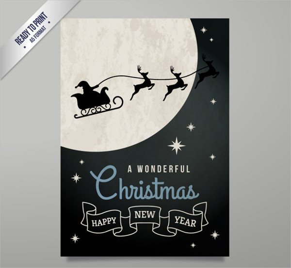 Christmas Time Greeting Card Free Download