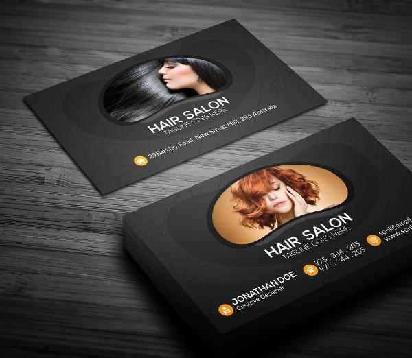 HairSalon Business Card Template