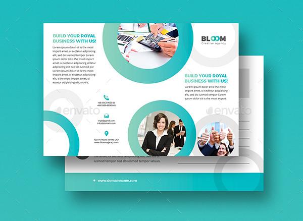 Creative Business Postcard Invitation