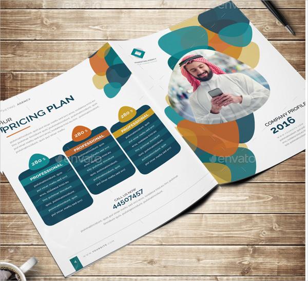 Creative Social Media Brochures Template