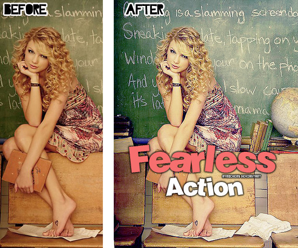 Fearless Photoshop Action Free Download