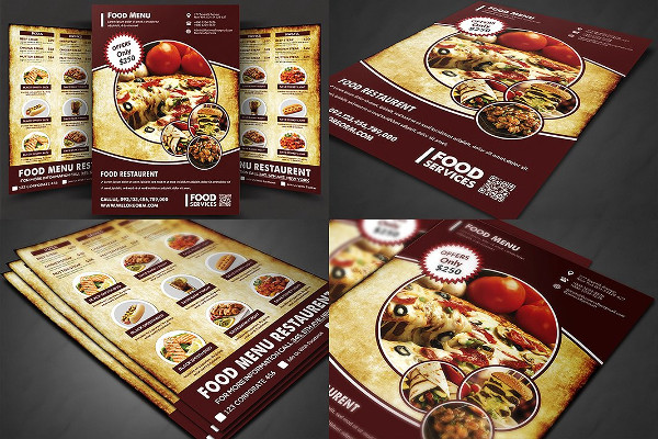 Best Food Menu Templates Bundle