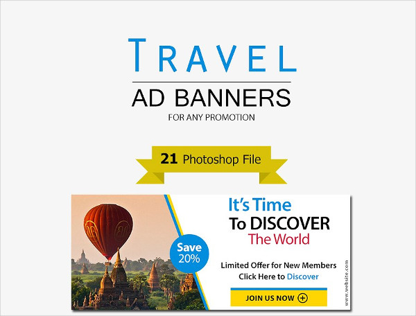 Holiday Travel Ad Banners