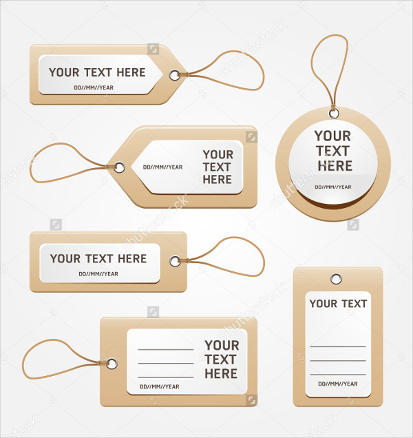 Paper Price Tag Template