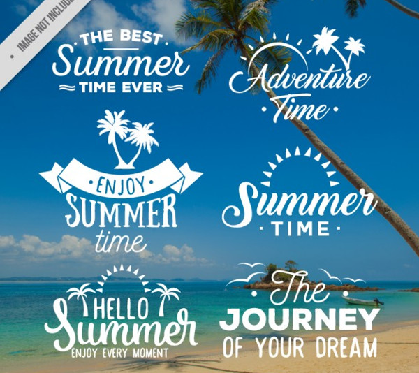 Summer Time Badge Collection Free