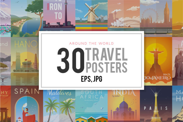 Travel Posters Collection