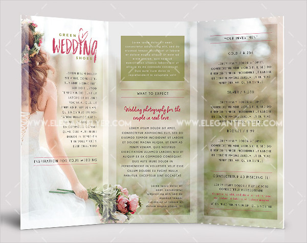 Tri-fold Wedding Invites Free Download