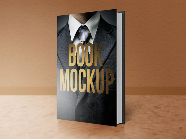 Popular Book PSD Mock-up