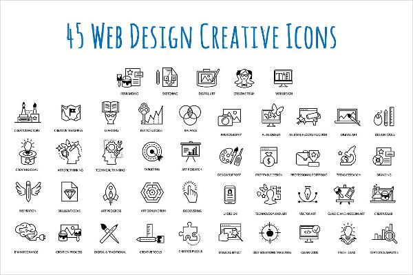 Web Design Patterns & Icon Set