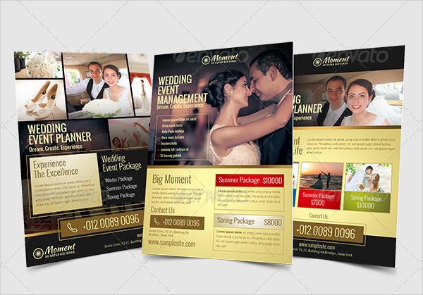 Wedding Event Management Flyer Template