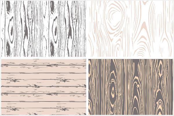 Wood Grain Vector Patterns Download