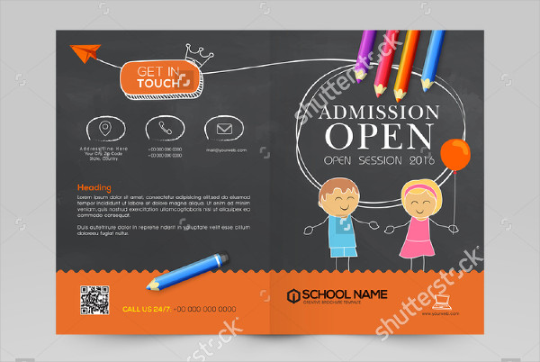Nursery School Brochure Design