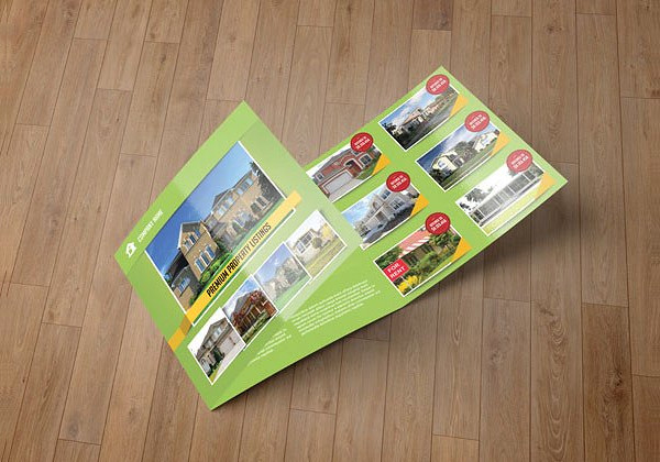 Brochure for Real Estate Company
