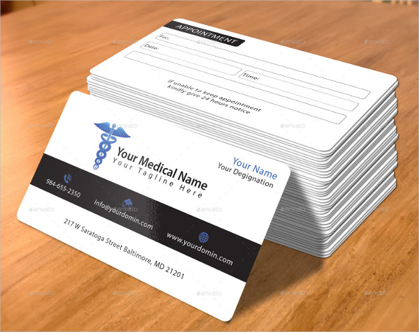 Modern Medical Business Card Template