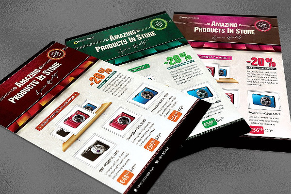 Amazing Products Store Flyer Template