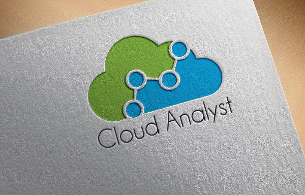 Editable Cloud Analyst Logo Template