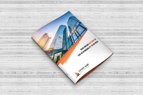 Standard Design Construction Bi-Fold Brochure