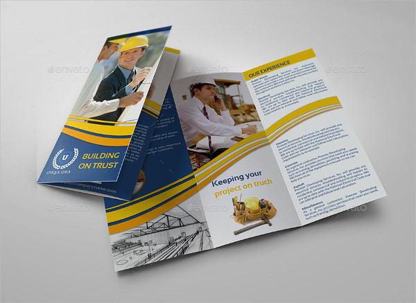 Construction Company Brochures Bundle