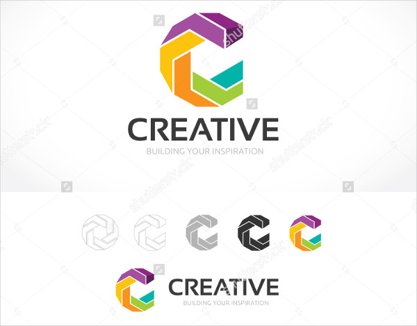 Creative Web Design Logo Template