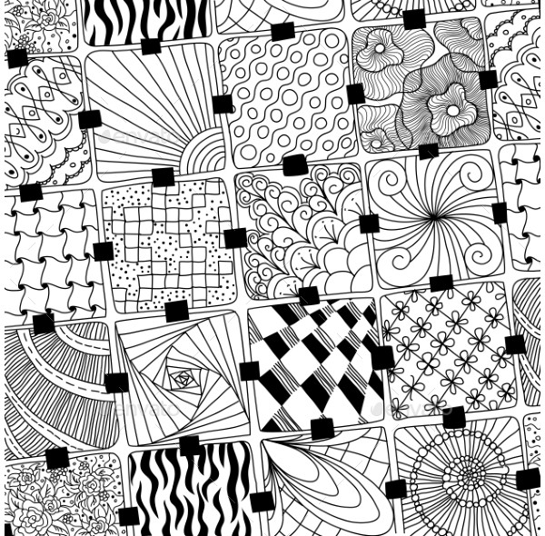 Doodle Traditional Pattern