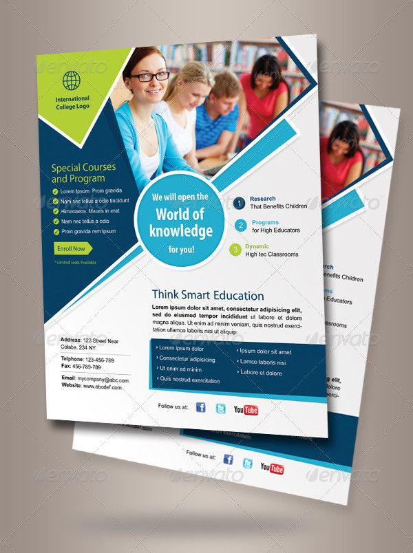Education Corporate Flyer