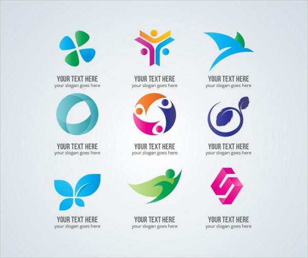 Elegant Web Design Logos