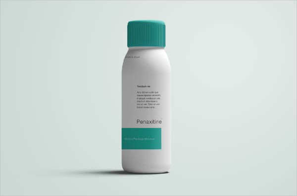 Free Medicine Bottle Mock-Up