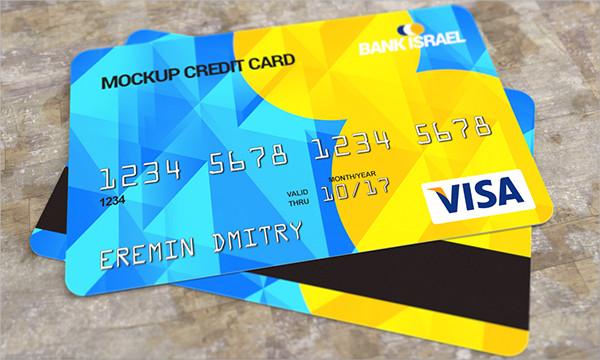 Free PSD Credit Card Mockups