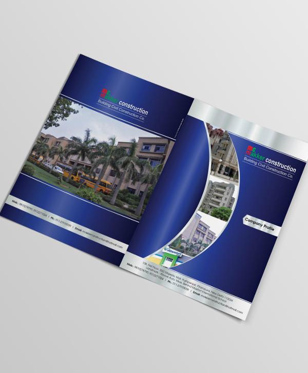 Construction Company Brochure Content